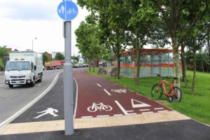 New cycle track