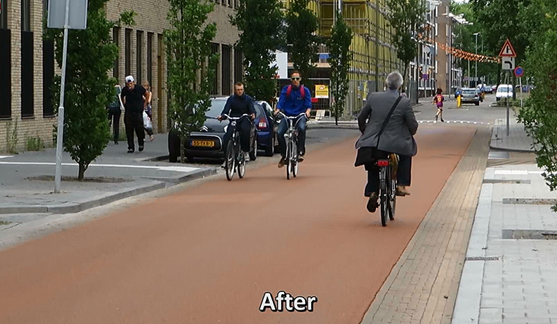 Dutch Cycle Street