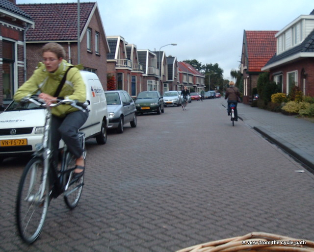 A Dutch residential street